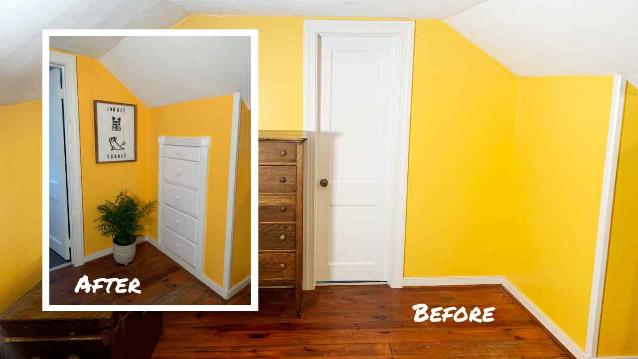 How To Install An In-Wall Built In Dresser