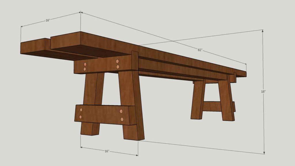 Bench Dimension