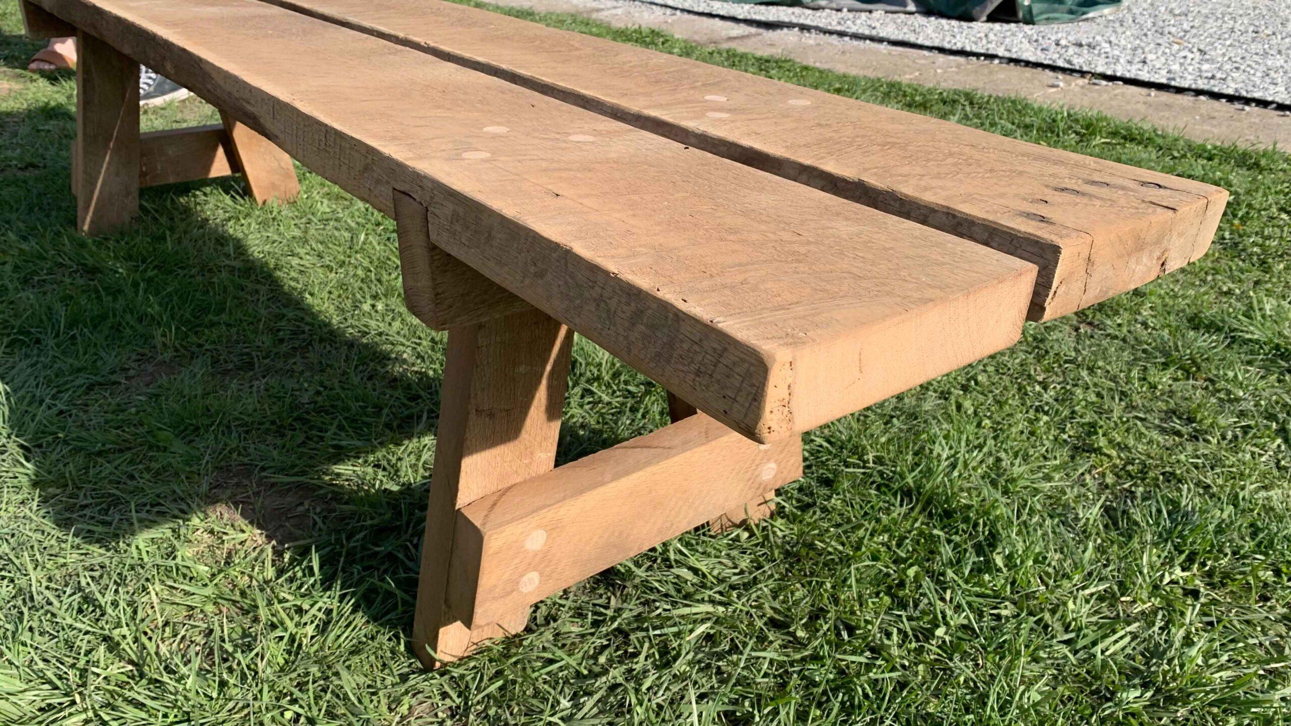 Rustic Barn wood bench