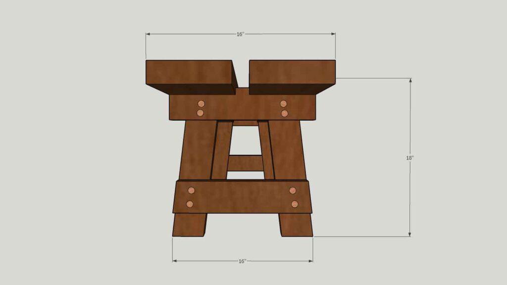 Bench Profile Dimensions