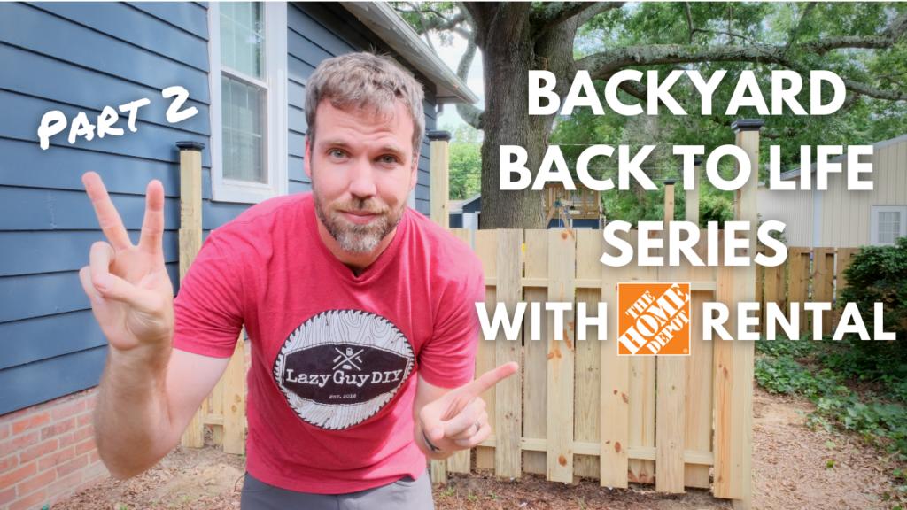 Bringing the backyard back to life
