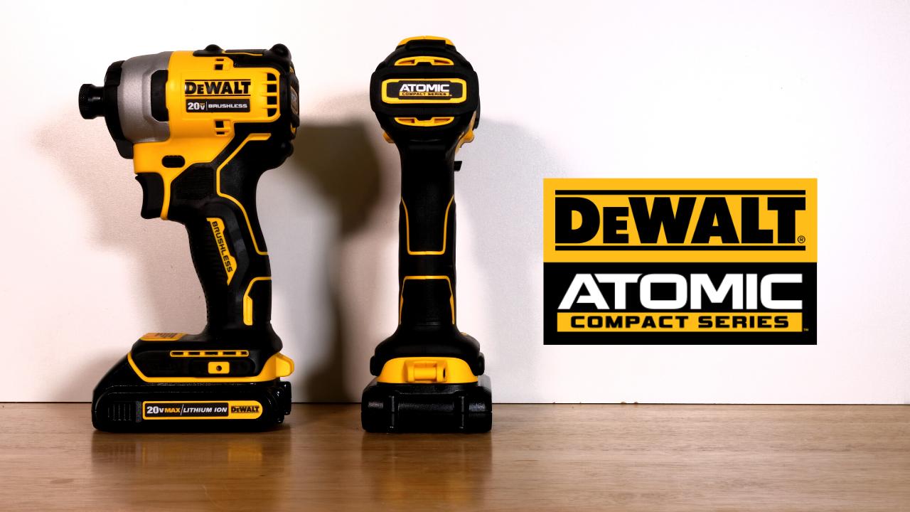 DeWALT Atomic Compact Impact Drill & Driver Kit